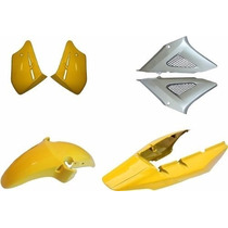 Kit Carenagem Cbx250 Twister Amarelo 2008 Modelo Original