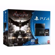Playstation 4 500gb Ps4 Bundle Batman Arkham Knight.+ Nf