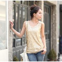 Blusa Dourada Chique Brilho Feminina Importada Promocao
