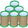 50 Porta Lápis, Porta Caneta Para Personalizar - Verde Folha