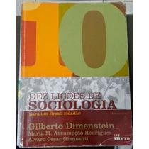 Livro Dez Lições De Sociologia Para Um Brasil Cidadão