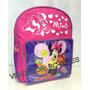 Mochila Escolar Infantil Desenho Minnie Mouse Pequena