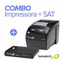 Impressora Térmica Bematech Mp4200th + Sat Fiscal Rb-1000