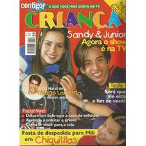 Revista Contigo Criança 1998 Sandy E Junior Chiquititas