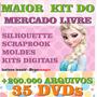Mega Kit Scrap Digital Circo + Dvd Mega Kit Scrapbook