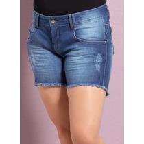 Short Jeans Plus Size ( Roupa Tamanhos Grande )