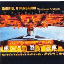 Cd Gabriel O Pensador Cavaleiro Andante (2005) Novo Lacrado
