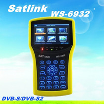 Satlink Localizador De Satelite Satlink 6932hd