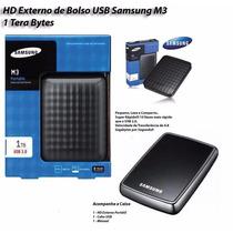 Hd Externo De Bolso Samsung 1000gb 1tb 3.0 2.0