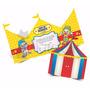 Convite Infantil Circo Patati Patatá (50unid) (15x13cm)