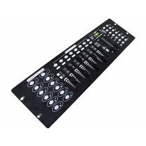 Mesa Dmx 512 Controladora 192 Canais Efeitos Cabo Dmx Bivolt