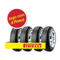 Kit 4 Pneu Aro 15 Pirelli 185/65r15 Cinturato P4 88t