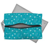 Travel Bag Lingerie G Aviões Azul