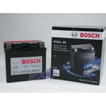 Bateria De Moto Bosch Em Gel Honda Cg Fan 125 2009 Até 2013