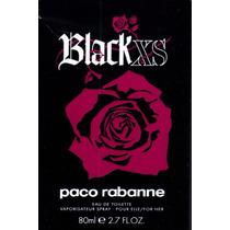 Perfume Black Xs Importado Feminino 80ml Edt Paco Rabanne