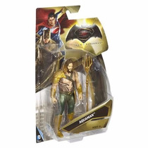 Boneco Aquaman - Batman Vs Superman Mattel 15cm Filme Barbie