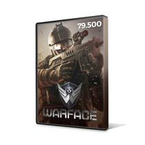Warface - Cartão De 79.500 Cash - Level Up - Envio Imediato!