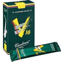 Palheta Sax Alto Vandoren V16 2 / 2,5 / 3 - Frete 5,00