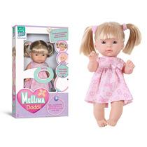 Linda Boneca Mellina Dodoi - Super Toys Super Toys