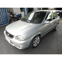 Chevrolet Corsa Sedan Super 1.6 2002/2002 Prata Preparado
