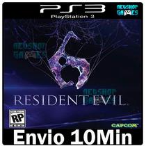 Residentevil 6 Ps3 Psn Midia Digital Play3 Português Pt Br