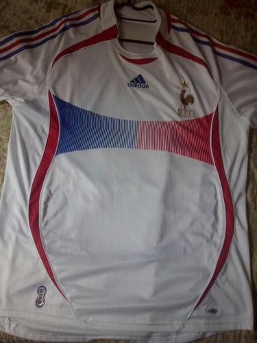 4d42c0c28 Camisa Franca adidas Copa 2006 Alemanha De Jogo Rara