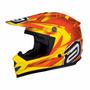 Capacete Asw Podium Nirvana Laranj Motocross Trilha Off Road