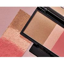 Maquiagem Natura Una Radiance Natura - Pó, Iluminador +blush