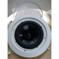 Caixa Acústica De Teto Som Ambiente Arandela Embutir 5p