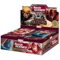 Booster Box Battle Scenes Poderes Ocultos Copag Card Marvel