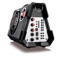 Caixa De Som Amplificada Multilaser 80w Rms Microfone Sp191