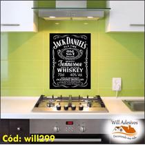 Adesivo Bebida Jack Daniels P Geladeira Ou Parede Will299