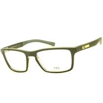 Hb 93116 Armação Óculos De Grau Masculina Retrô Original