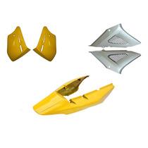 Carenagem Kit Completo S/ Paralama Twister Amarelo 2007/2008