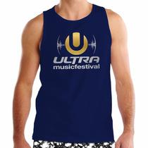 Regata Ultra Music Festival - 100% Algodão - Eletrônica