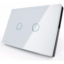 Interruptor Touch Livolo 2 Vias S/ Dimmer S/ Remote Branco