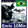 Batman Arkham City Ps3 Psn - Legendas Em Português