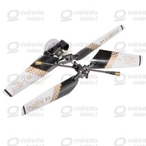 #6020-mt/bk - Kit Do Rotor Principal Com Helices (preto)