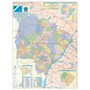 Mapa Do Estado Do Mato Grosso Do Sul 0.89x1.17m Geomapas