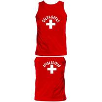 Camiseta Regata Salva Gatas Engraçada Divertida Show