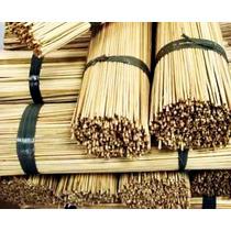 Vareta De Bambu 60 Cm P/ Pipas Raias Com 800/1000 Unidades