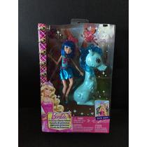 Barbie Escola De Princesas Fada Azul Linda Nova Na Caixa