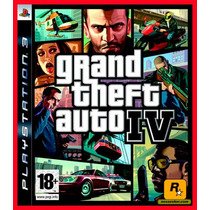 Gta 4 Grand Theft Auto 4 Ps3 - Jogos Psn Digital