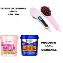 Kit Escova Alisadora + Hidratação Extrema Forever Liss