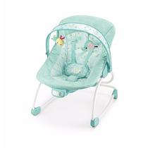 Cadeira De Descanso Balanço Vibra E Musical - Até 18kg Verde