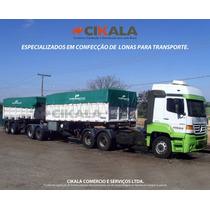 Lona Caminhão Anti-chama Tipo Vinilona Emborrachada 3x2 M