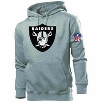 Blusa Moleton Oakland Raiders Nfl Pormoção ! Frete Grátis .