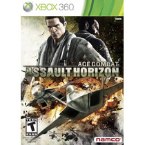 Jogo Xbox 360 Ace Combat Assault Horizon Original E Lacrado