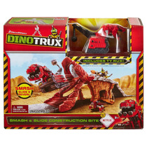 Dinotrux Quebra E Slide Canteiro De Obras Playset (inclui Ty