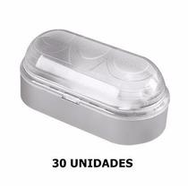 Kit 30 Luminárias Arandela Tartaruga P/ Parede Externa